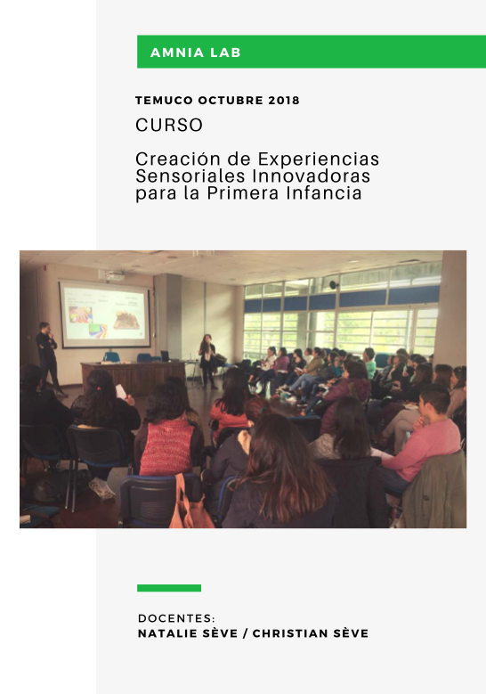 Curso Creación de Experiencias Sensoriales Innovadoras para la Primera Infancia - Autor: Amnia LabTipo de Archivo: InformeAño: 2018Ver PDF