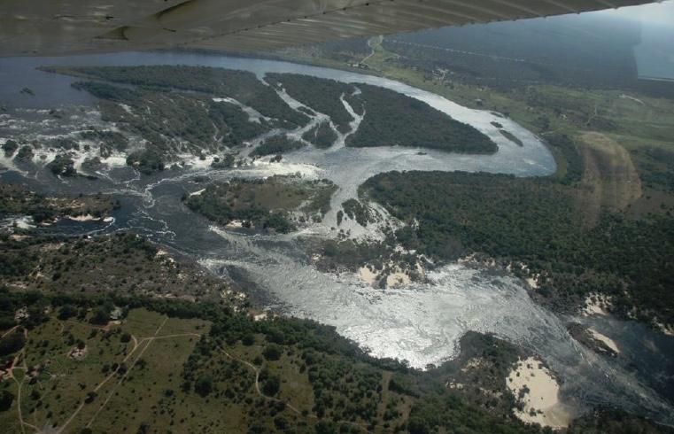 Ngonye Falls Hydro Location in Western Zambia