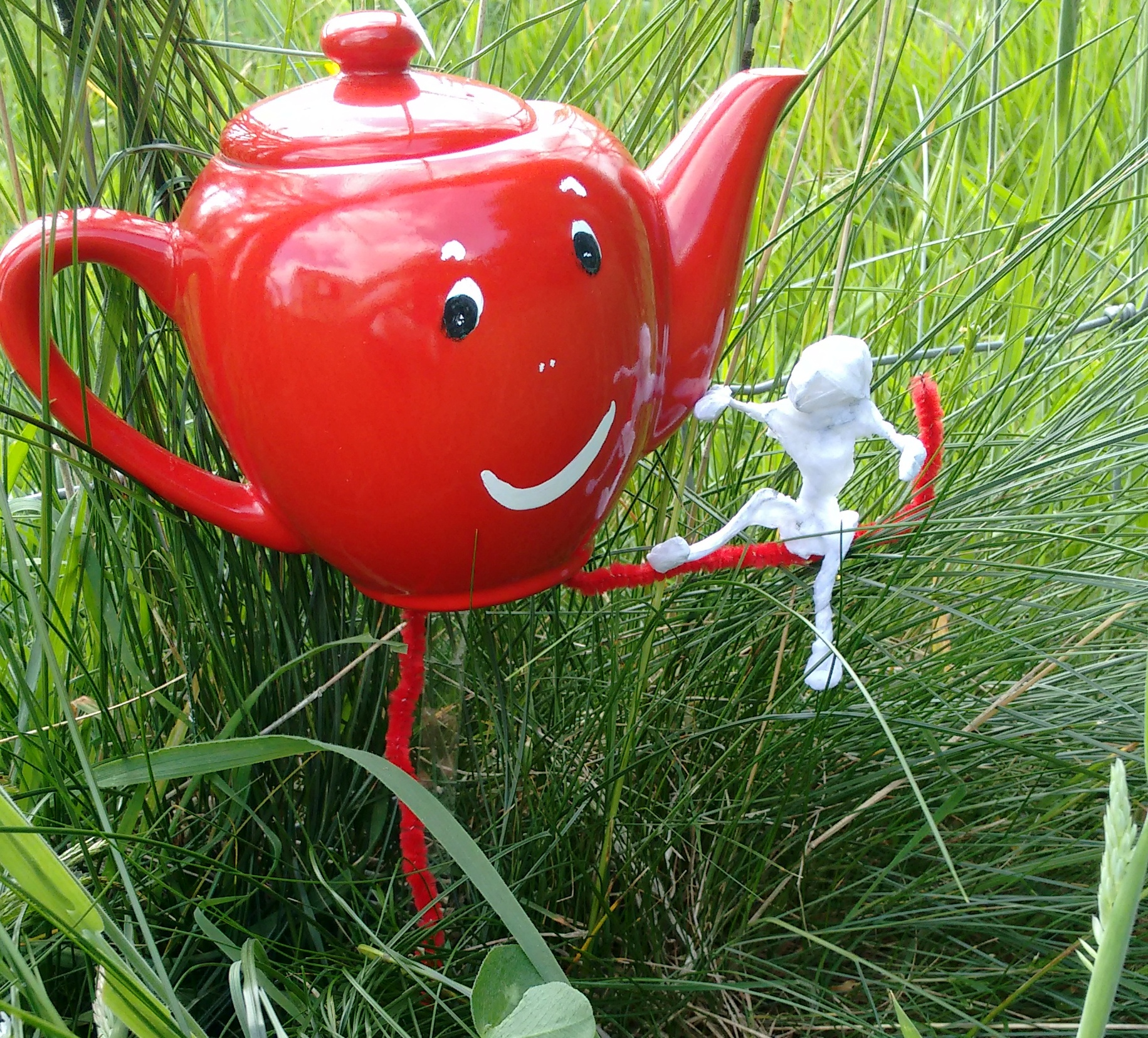 Could we be living metaphors? Try being a little teapot!