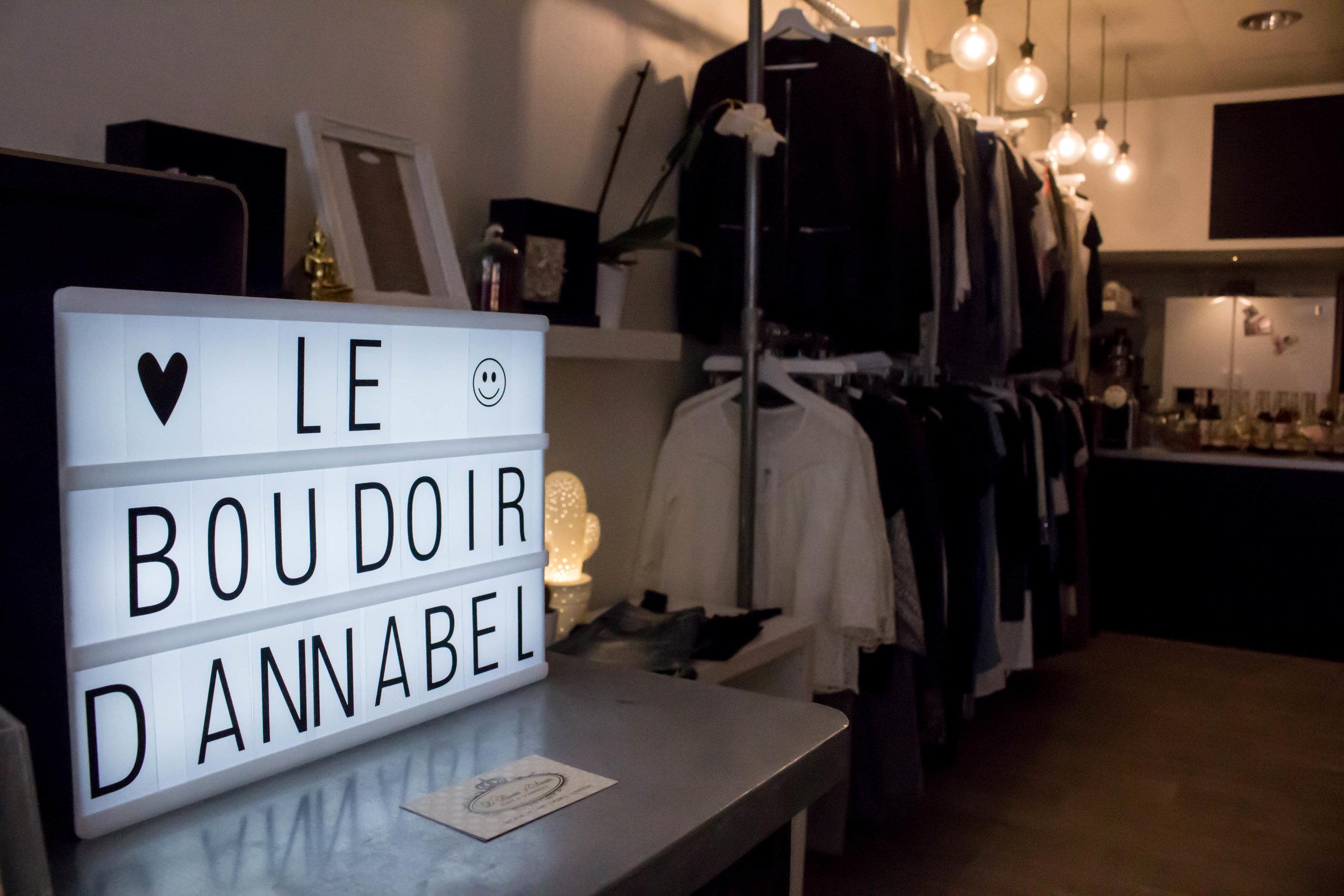 - LE BOUDOIR D'ANNABEL