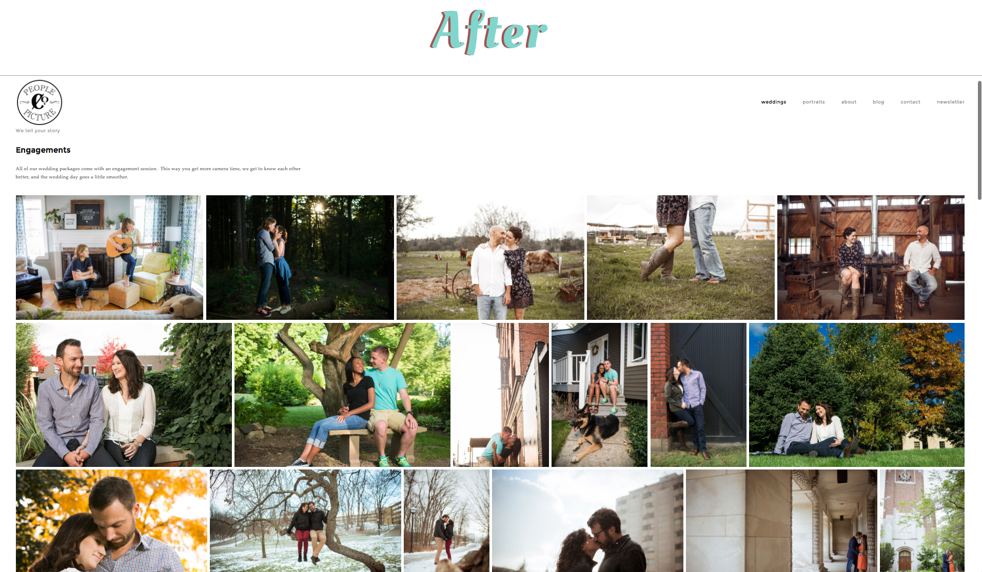 Engagements Page