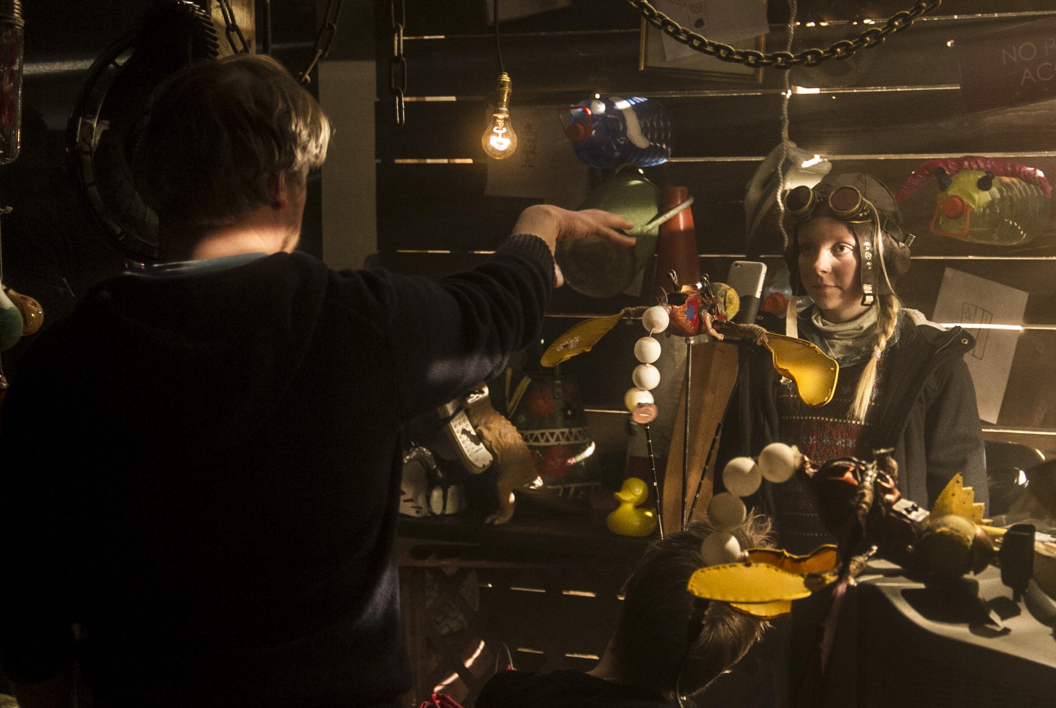 Pete directing Leila.jpg