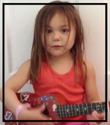 """We get to learn different chords and play games. And we get to record and listen to our songs.""  –Maggie (age 4)"