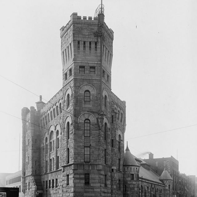 #TBT: The armory at the corner of Arlington Street and Columbus Avenue (captured here in 1904), remains an important landmark in #BayVillage and serves as a reminder to residents of the history within the neighborhood.  #architecture #oldbuilding #igersboston #iheartboston #igboston #boston #bostondotcom #igersbostonfox25 #bostonstrong #igersmass #igersnewengland #boston_community #beantown #bostongram #visitboston #bostonusa #naturalnewengland  #instagood #instadaily #design #hiddengems