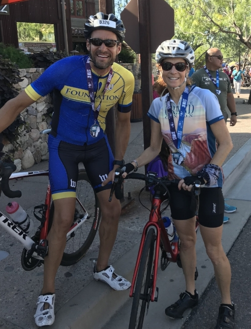 Matt & Caryn @ Tour de Scottsdale!