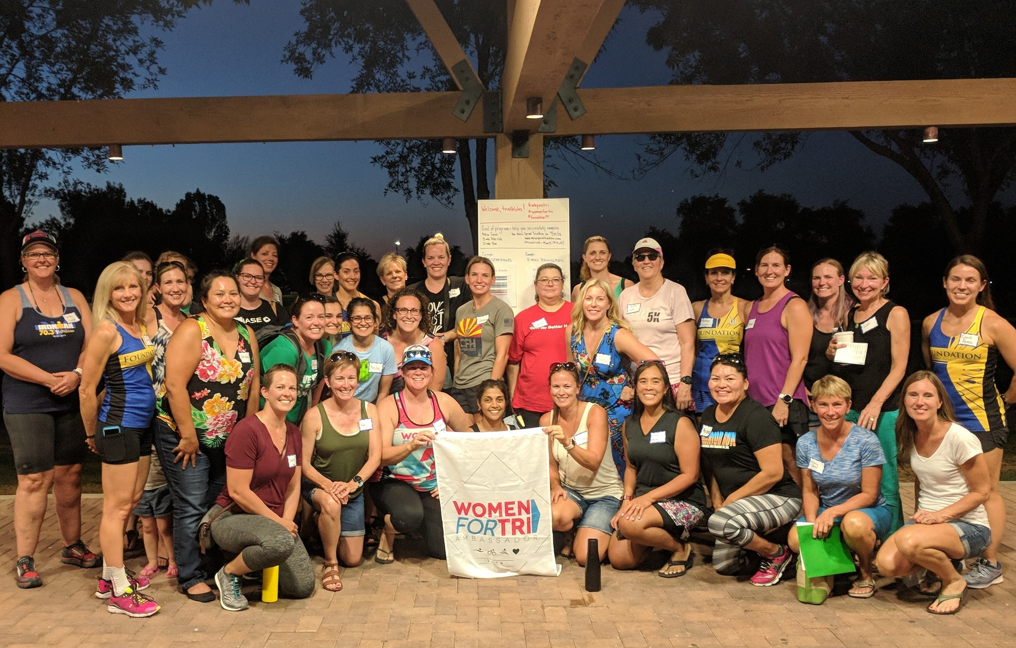 June 28, 2018, Kick-Off Party, Women For Tri: Introduction To Triathlon Training Program