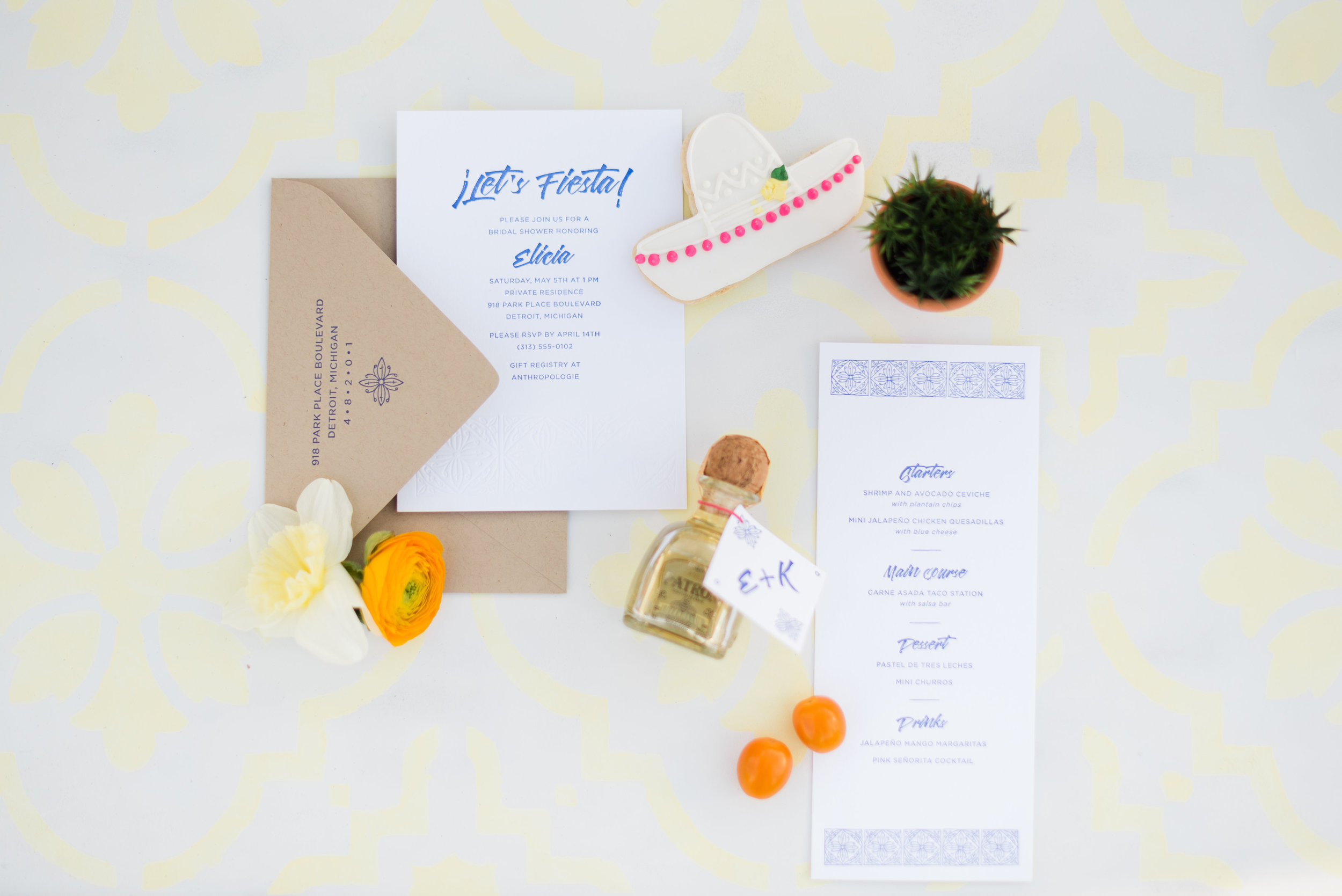 Fiesta Party & Bridal Shower Inspiration Styled by Event Prep Photographed by Amanda Collins!