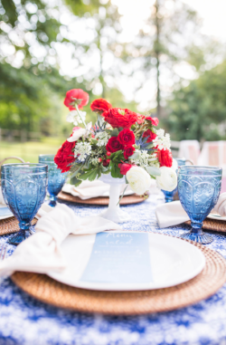 Fourth of July Party Styled by Cassandra Clair of Event Prep