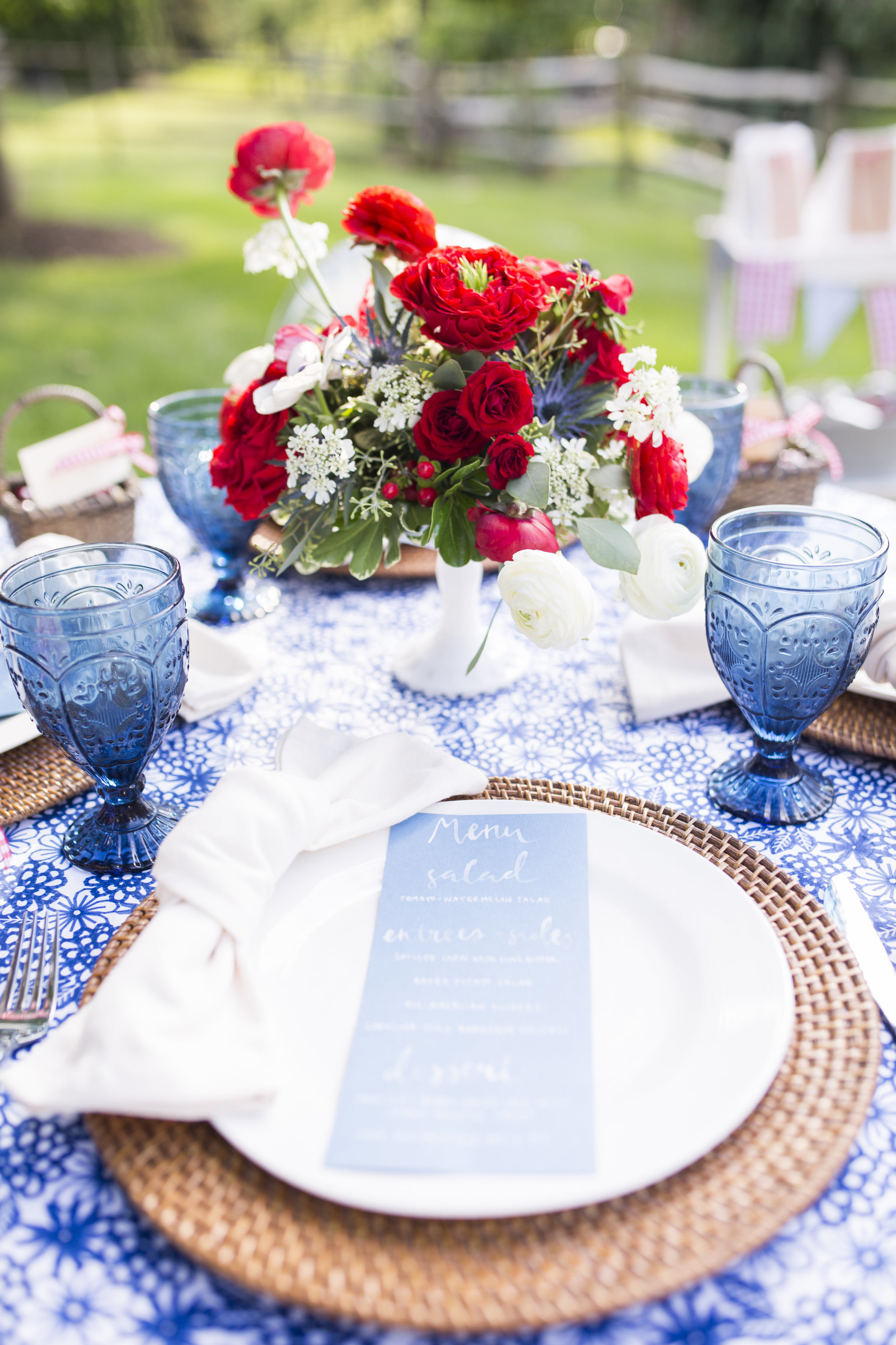 Fourth of July Party and Decor Ideas by Cassandra Clair of Event Prep