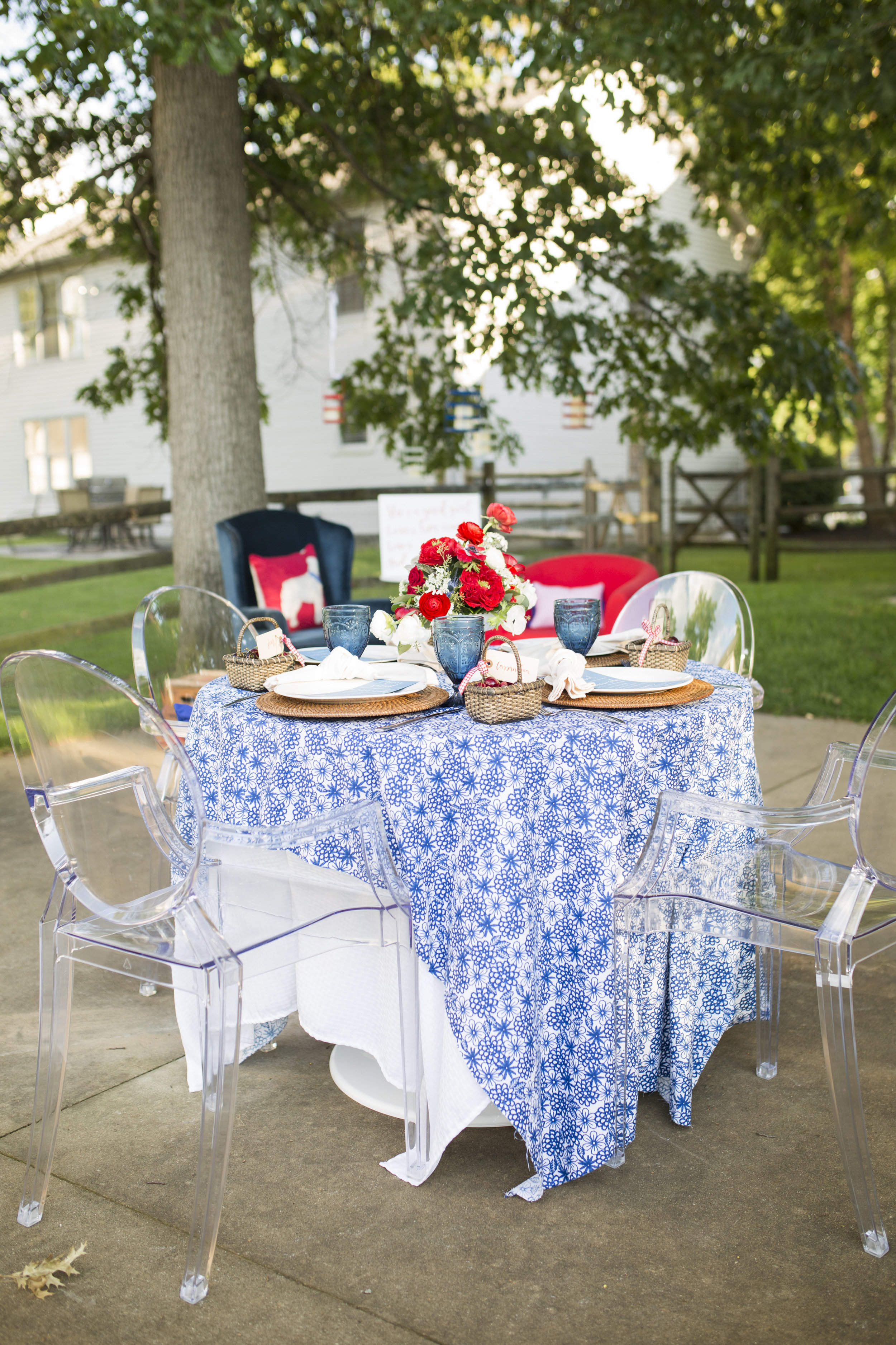 Stylish Fourth of Idea Party Decor & Entertaining Ideas by Cassandra Clair of Event Prep
