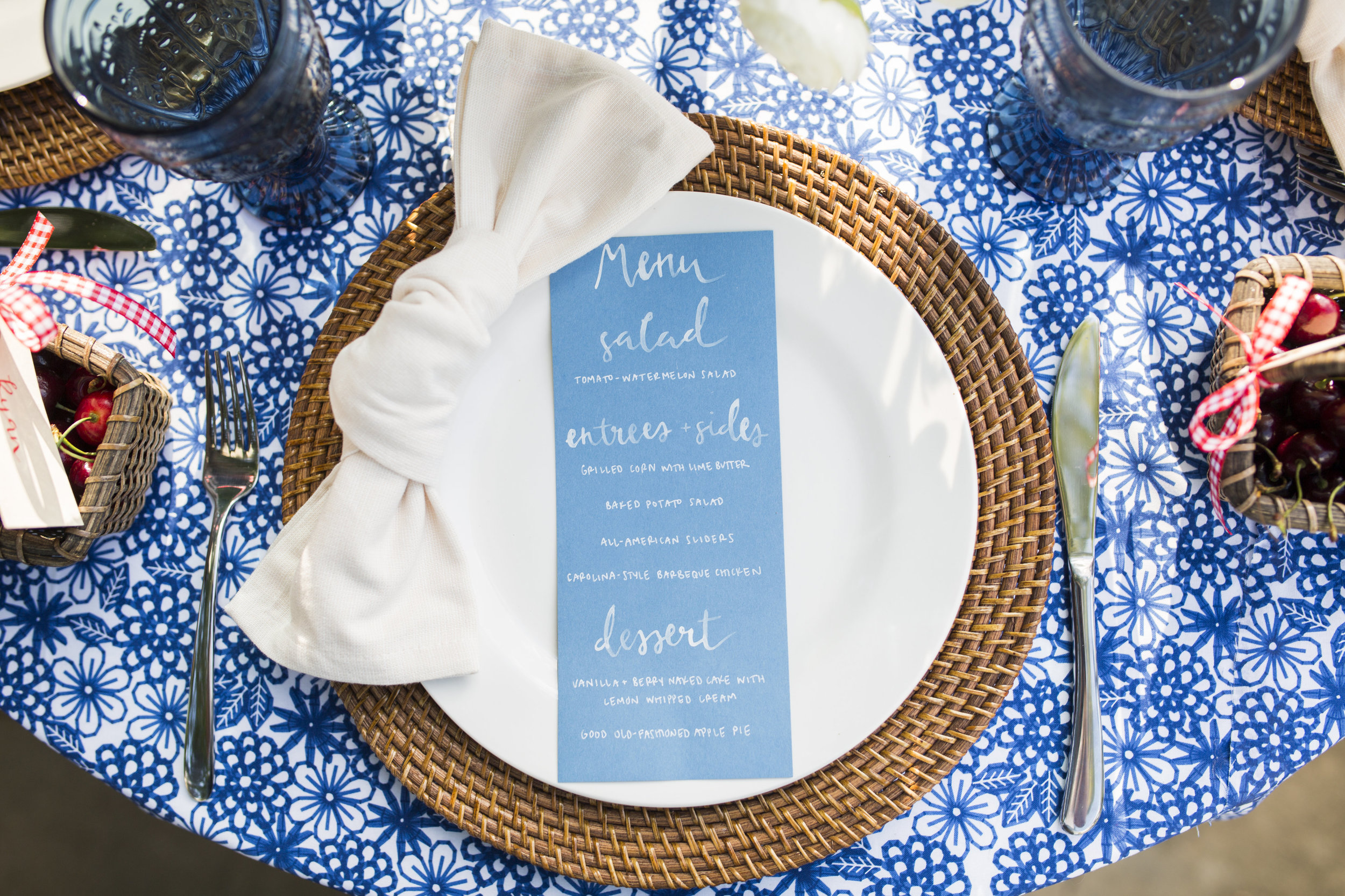 Stylish Fourth of July Party Ideas by Cassandra Clair of Event Prep