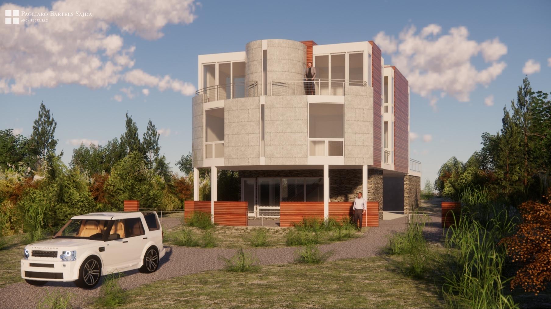 Hamptons modern -