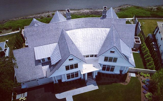 Awesome drone photos that show the curvature of this beautiful Connecticut waterfront home. #fletchercustomhomes . .. ... .... #job #wearehiring #construction #sitesupervisors #projectmanagers #fletchercustomhomes #fletcherdevelopmentllc #modern #development #construction #interiordesign #views #architecture #kitchendesign #developer #builder #luxury #luxuryhome #architect #luxuryhouse #luxurylife #luxurylifestyle #homestyle #lights #homestyling #design #homestyle #architectsofinsta #luxuryhomes #homeoftheday #waterfront #fletcher #fletcherdevelopmentllc