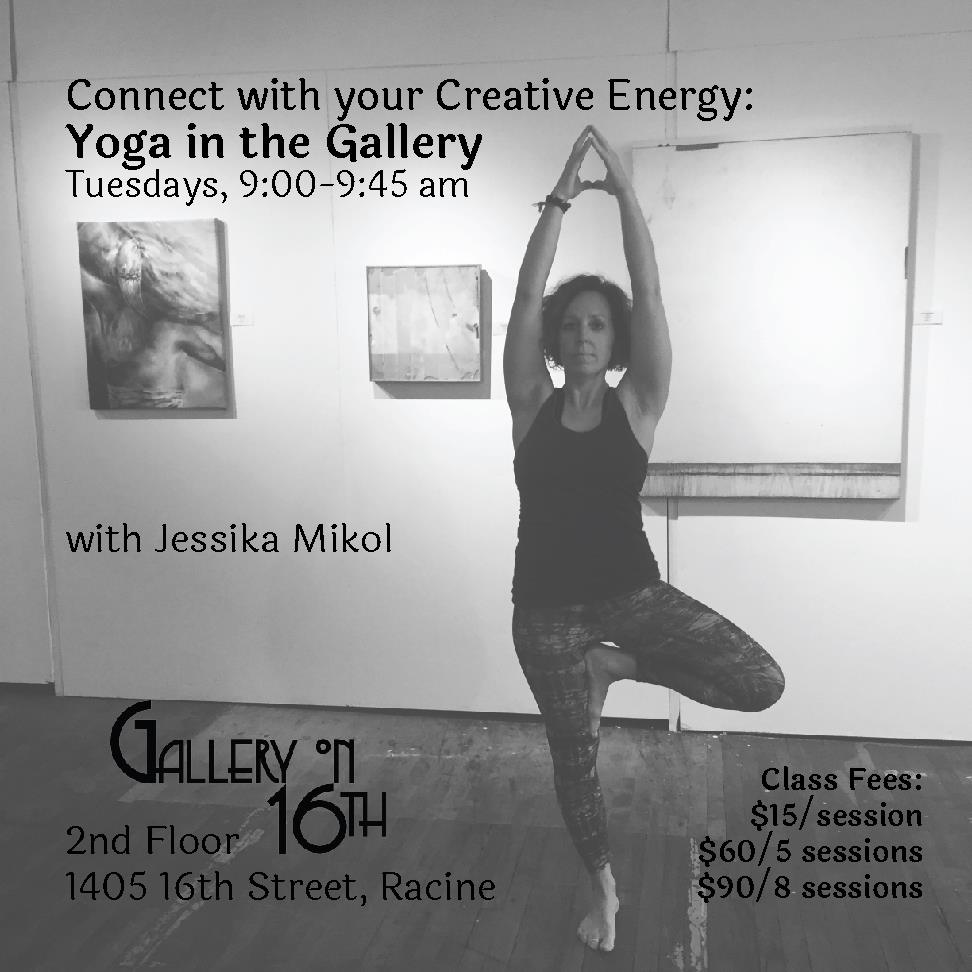 Yoga in the Gallery - Gallery on 16th, Racine, WI