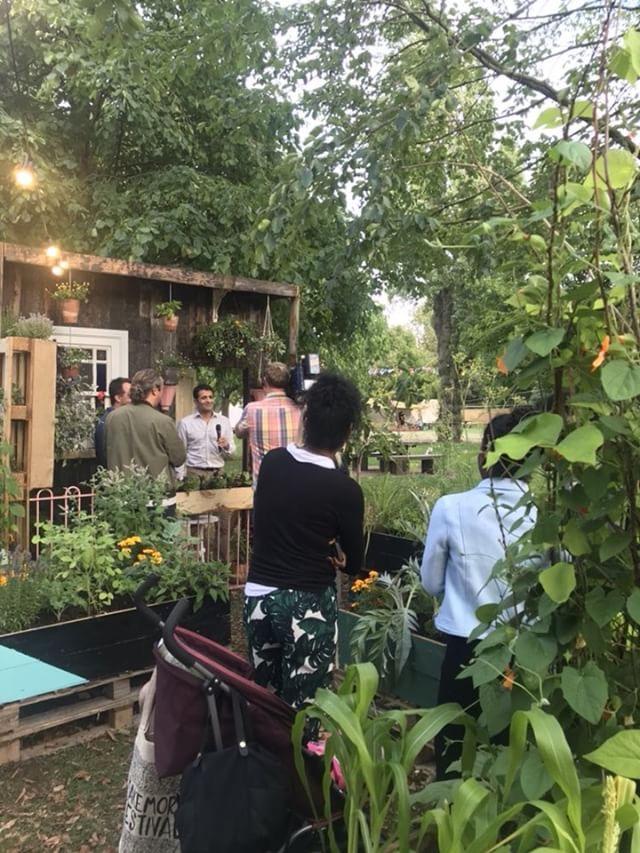 Make More Festival Edible Living Wall