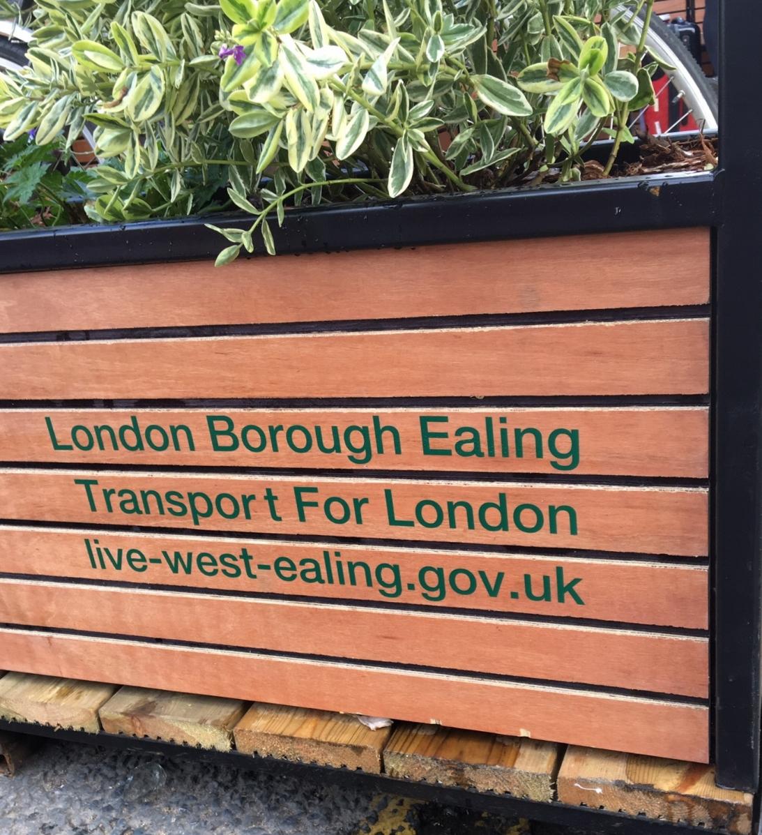 Ealing On-Street Parklets