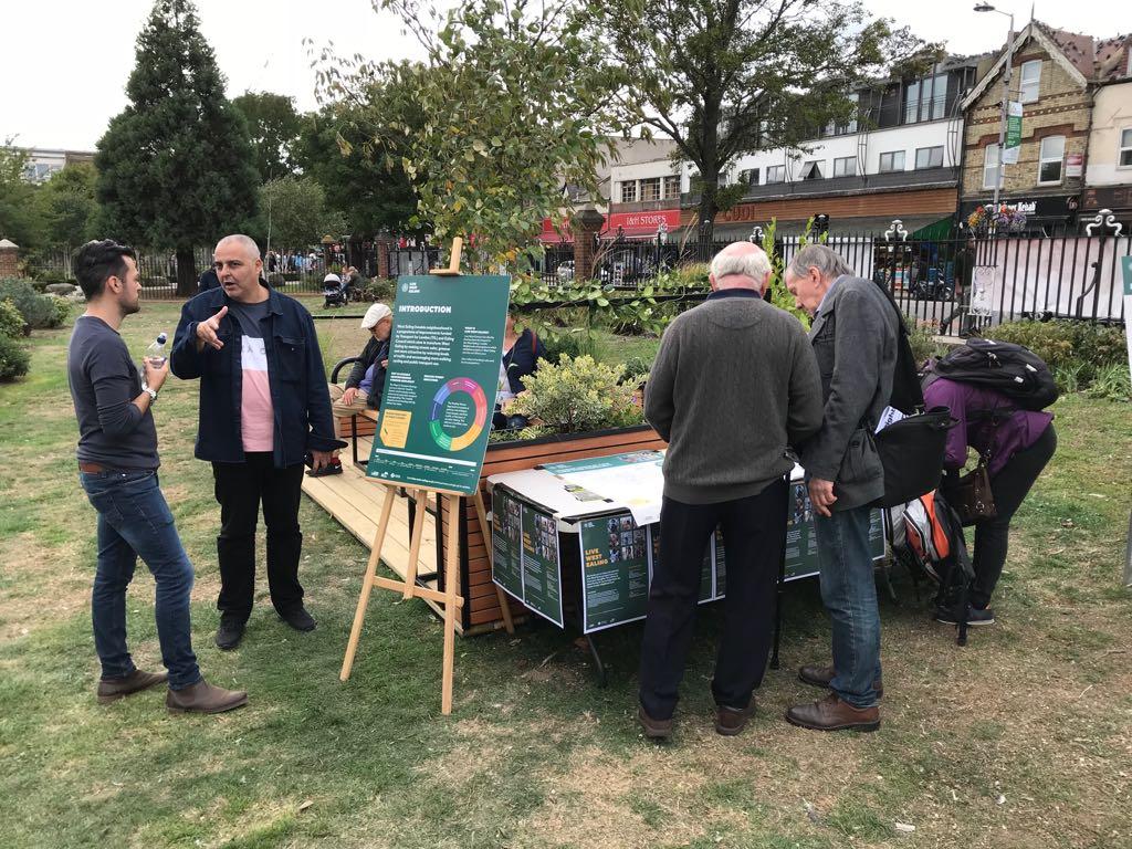 Ealing Parklets Launch