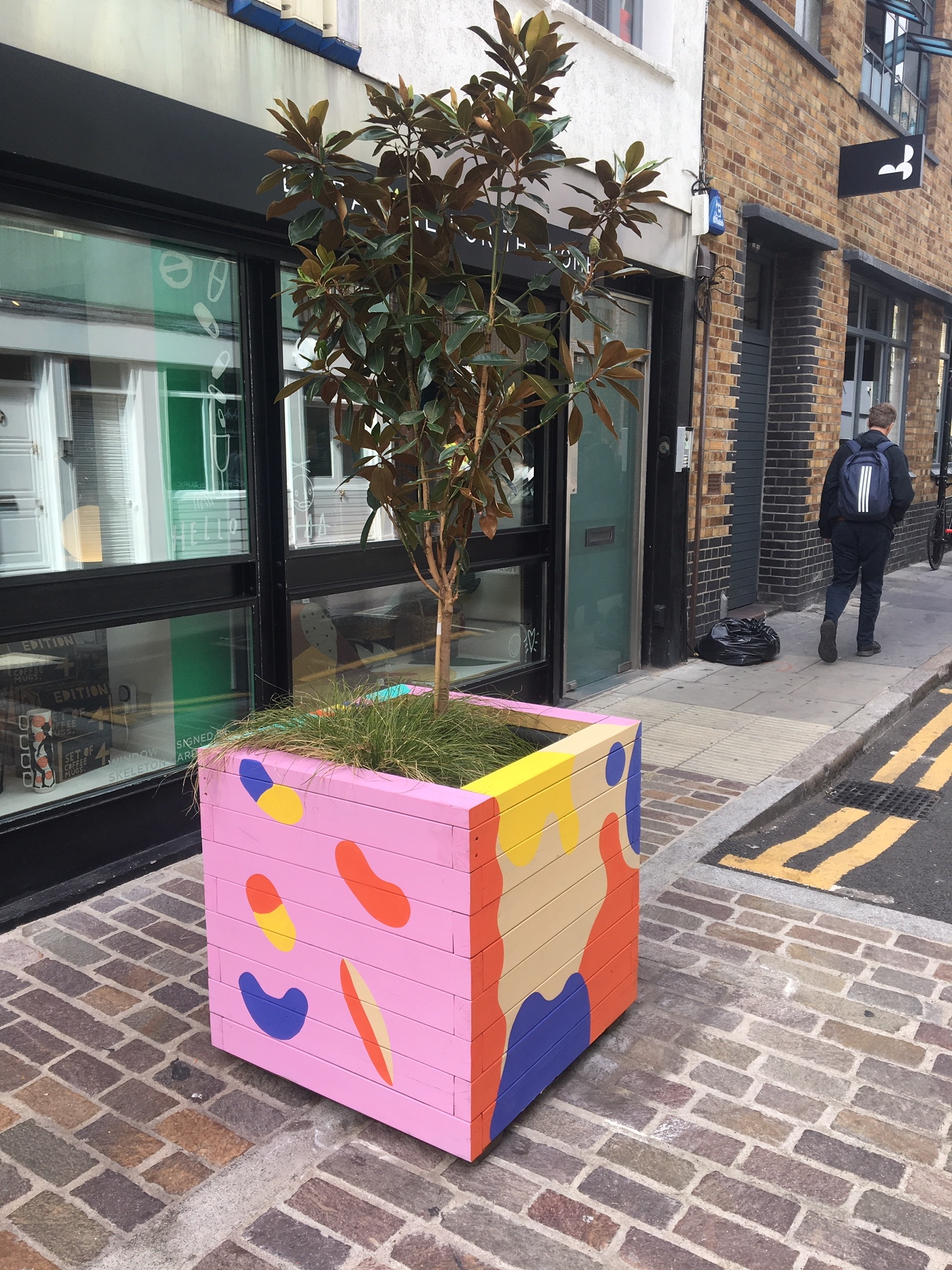Rivington Street Painted Planters 4