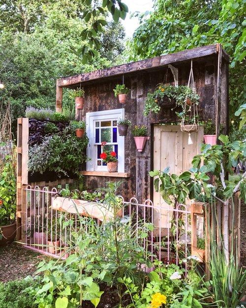 Make More Festival Herb Living Wall