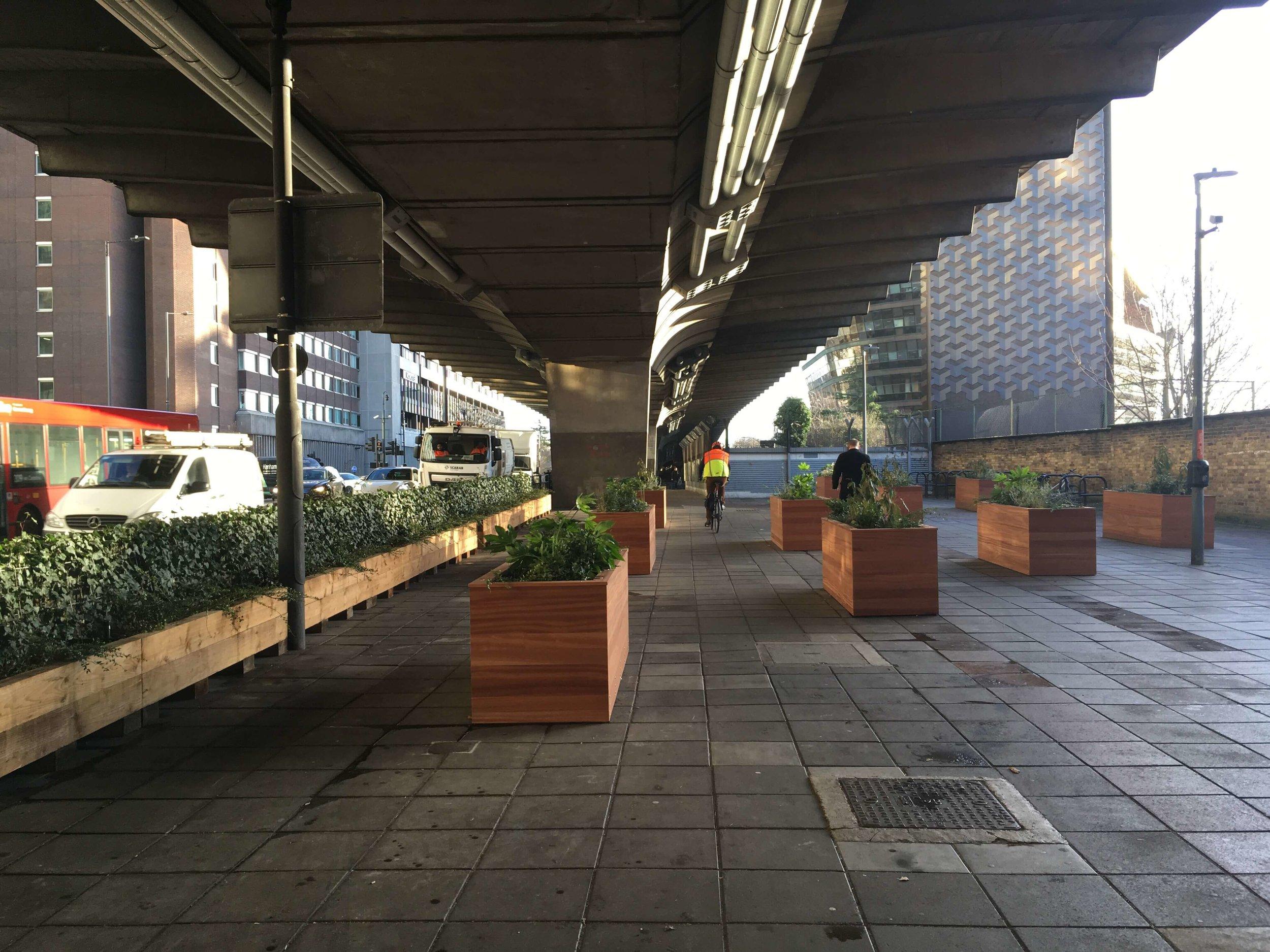 Hammersmith & Fulham Flyover Greening
