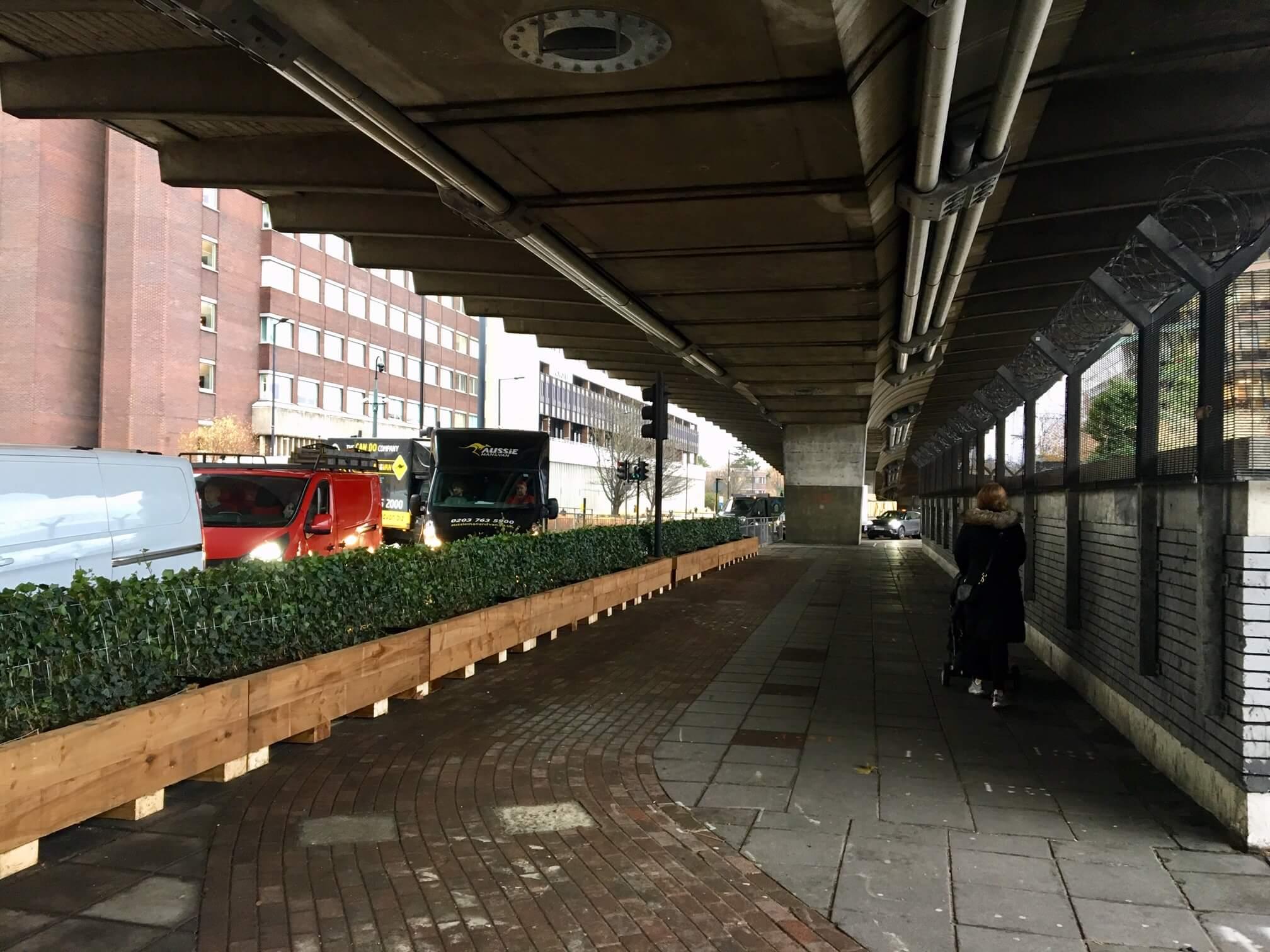 Hammersmith & Fulham Flyover Green Screens