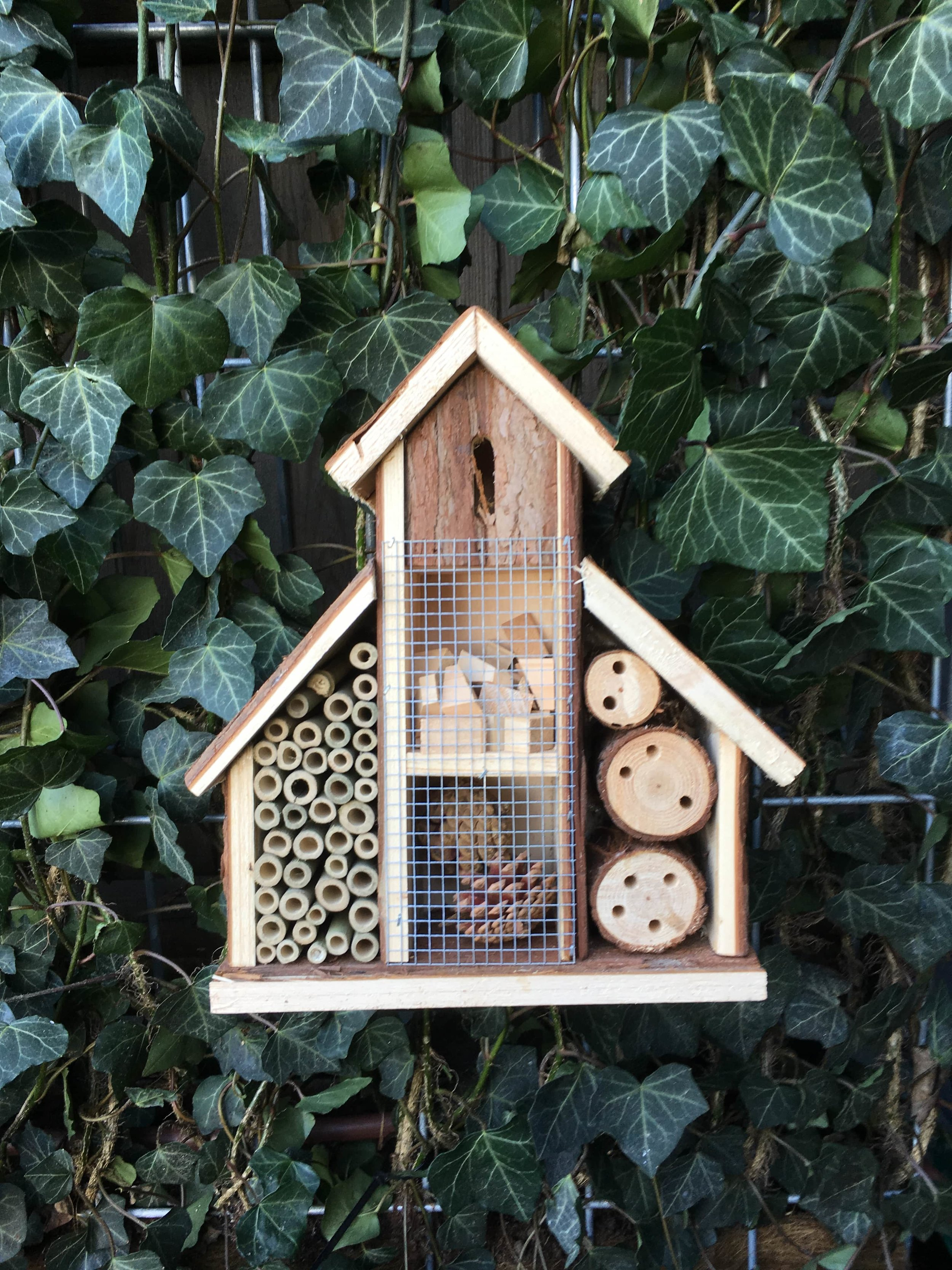 Robin Hood Junior School bug hotel
