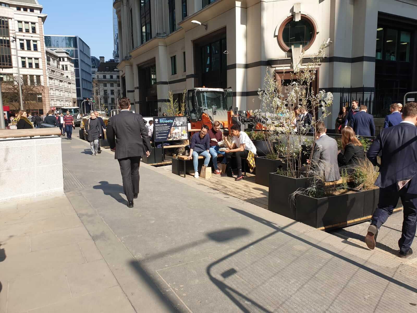 City of London Parklet
