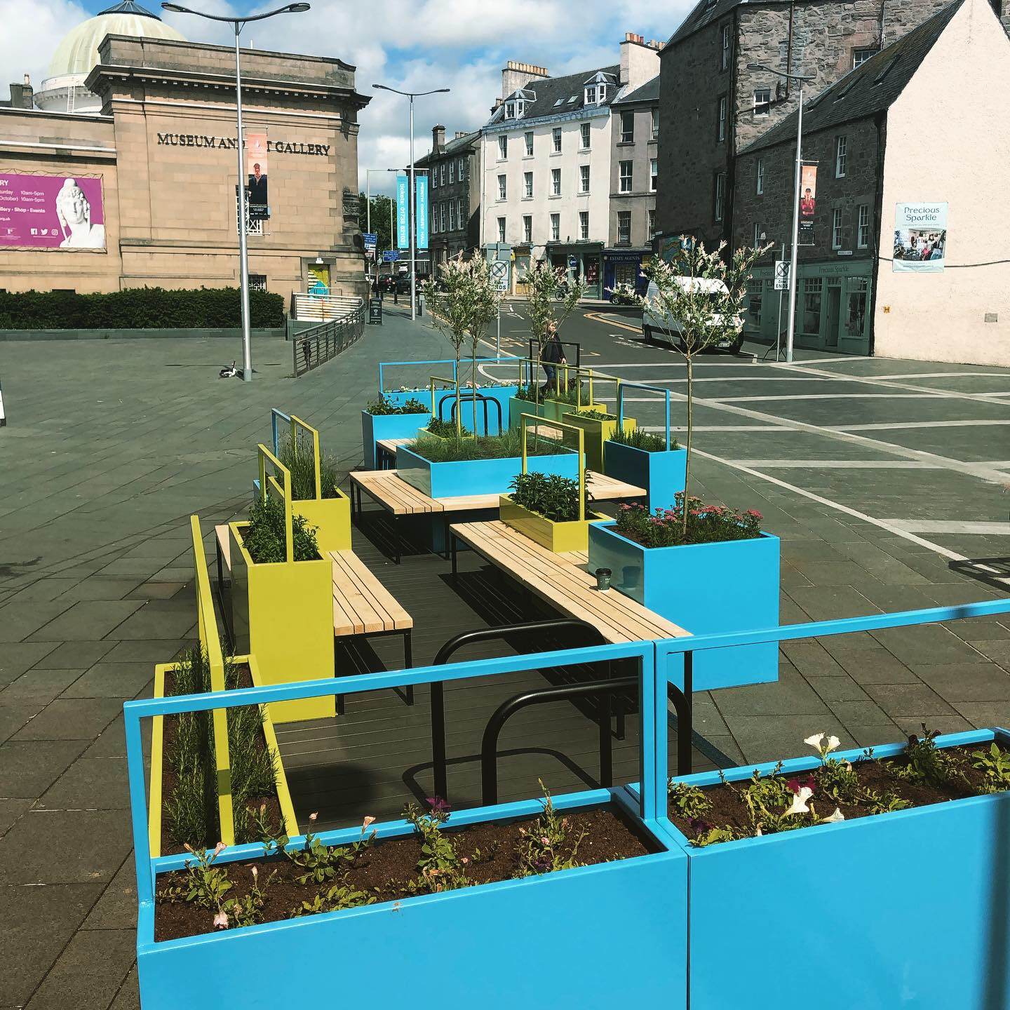 Mill St Parklet - Perth and Kinross 3