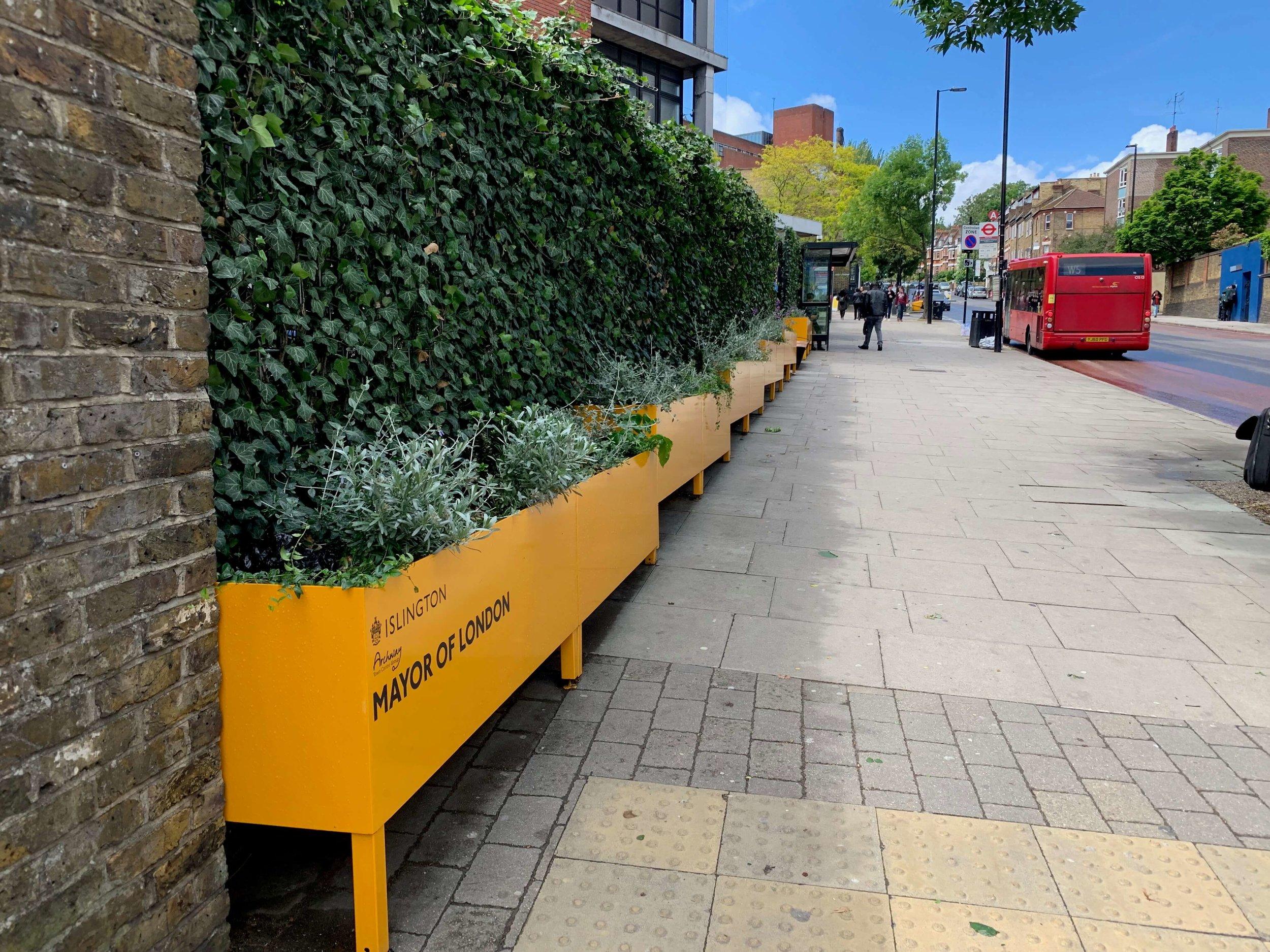 Whittington Street hospital green screens