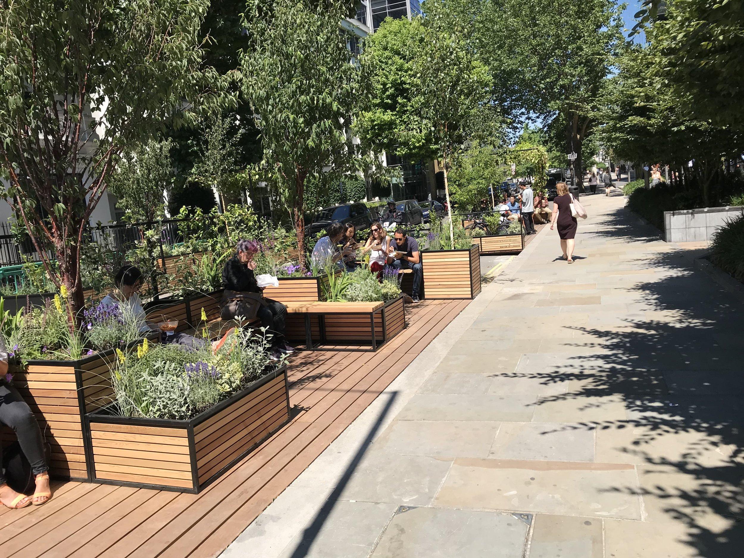 Hammersmith & Fulham Parklets