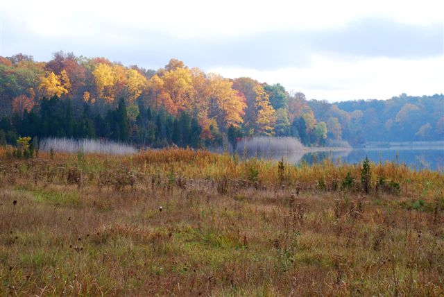 White Lake in the Fall