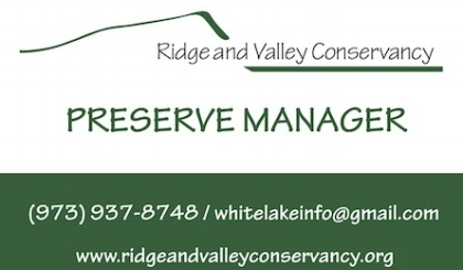 Aaron Rosado Preserve Manager - RVC Preserve Mangers manage the sensitive ecology at White Lake, assist the public and coordinate volunteer efforts.