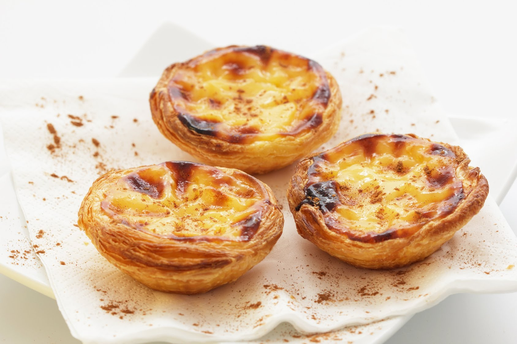 Custard egg tarts
