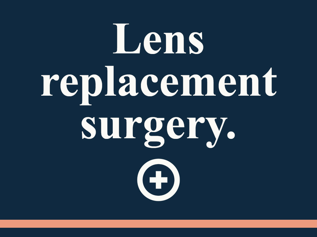 lens replacement surgery