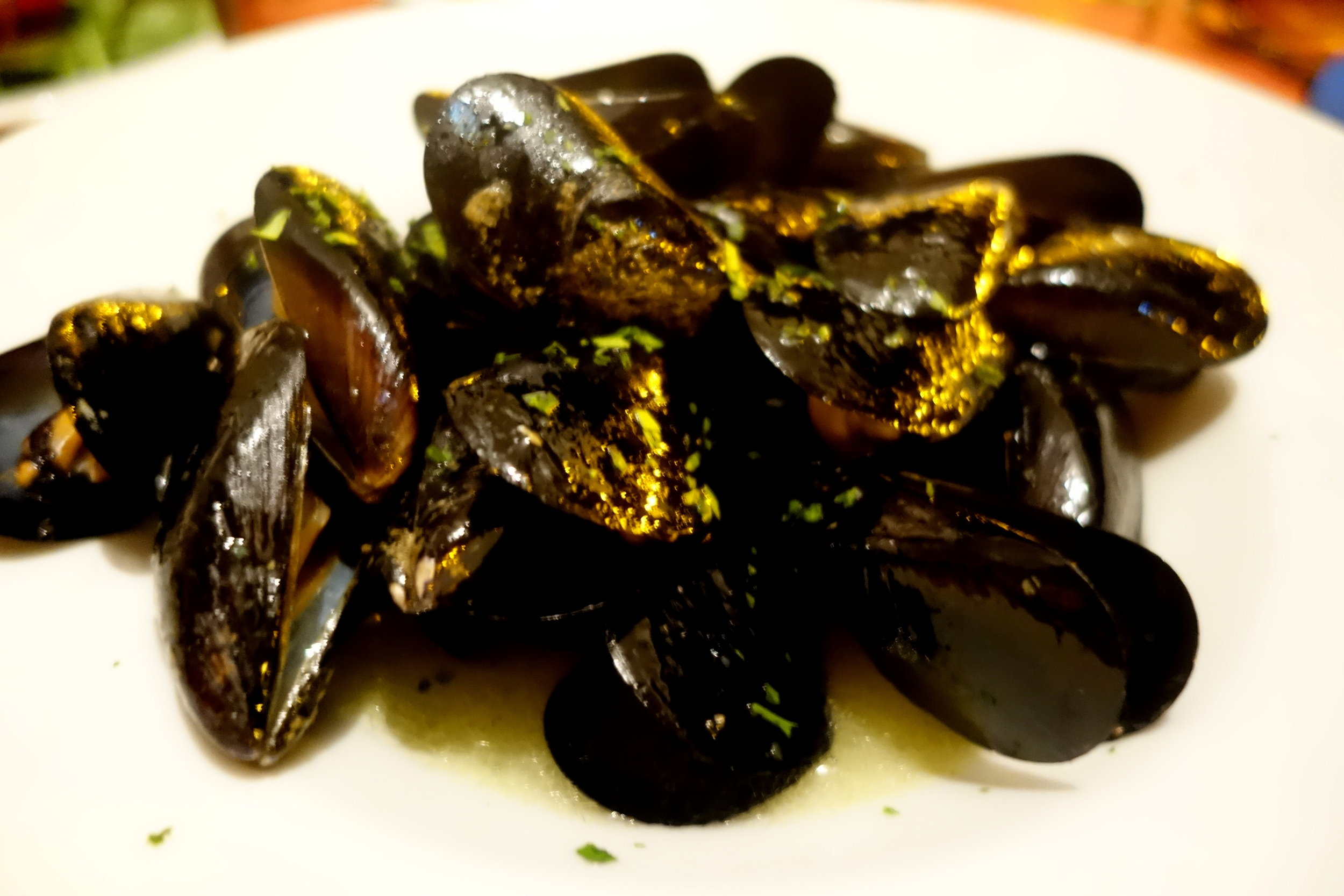 gaeta italy mussels