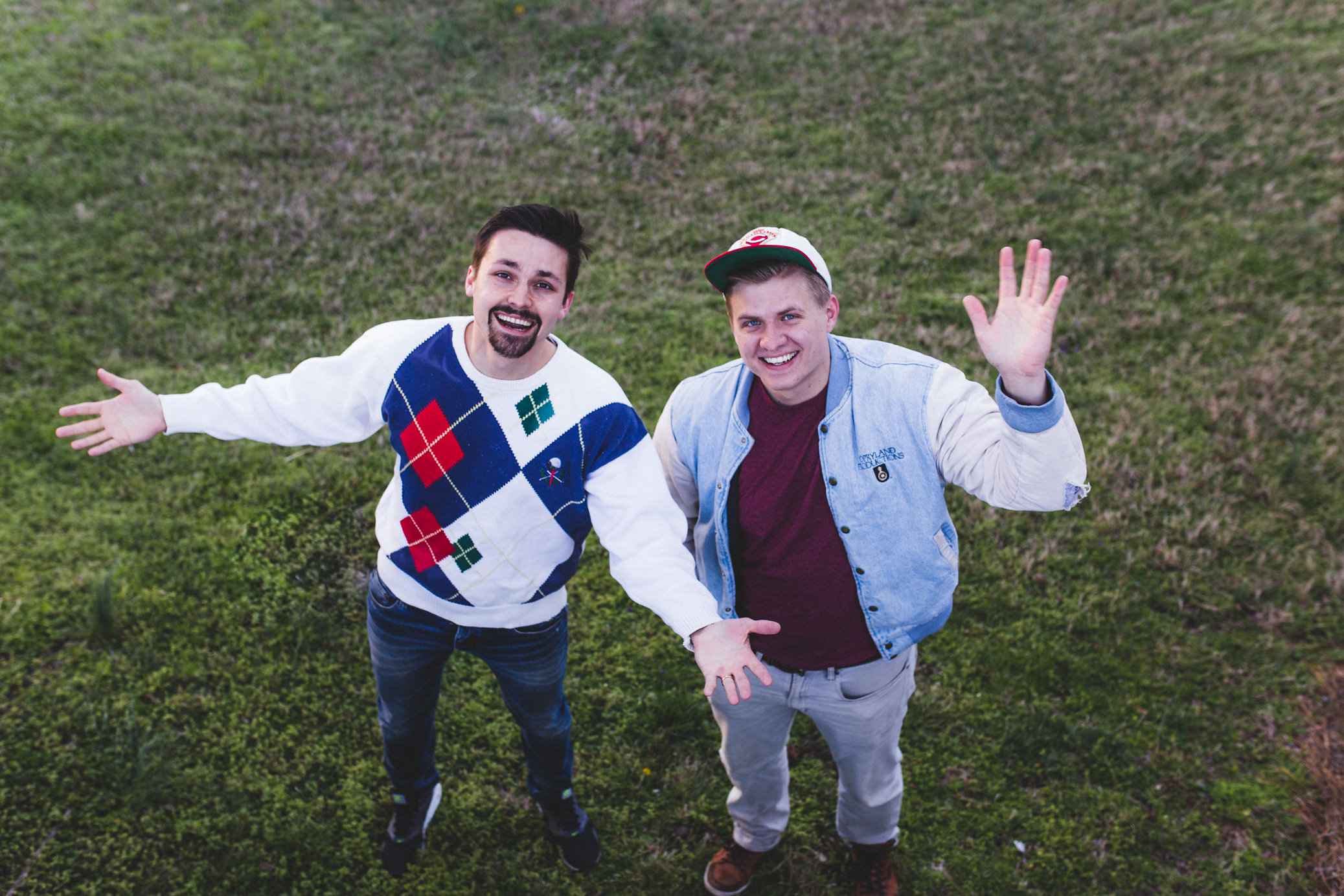 We've been empowered to create things that spark ideas and emotions. - Austin and Colin are a comedic duo that specializes in making videos that are funny, informative, and catchy. The pair learned at a young age that to get noticed, you have to think different, be different, and see different.