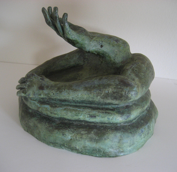 HOLDING ON, 1994 (front view)