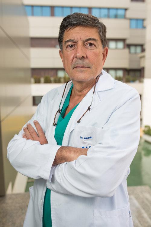El doctor Felipe Acedo lidera el servicio de Cirugía del Hospital Montepríncipe