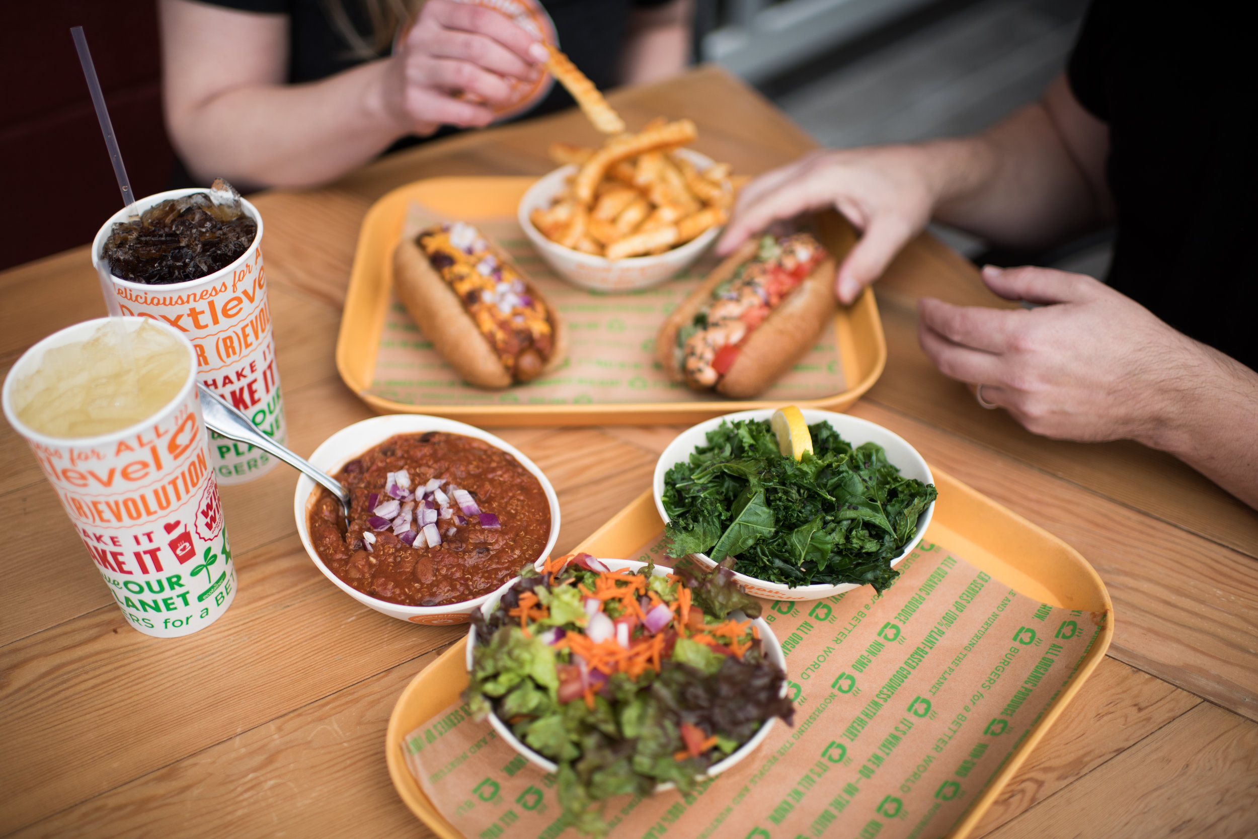 NLB's 100% plant-based foods include burgers, hot dogs, sandwiches, and more.