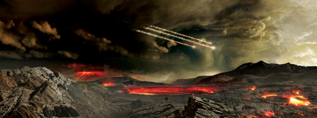 Meteorite impacts may have kick-started ancient subduction