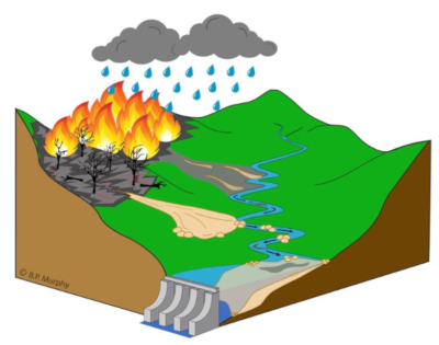 Wildfire Can Pose Risks to Reservoirs