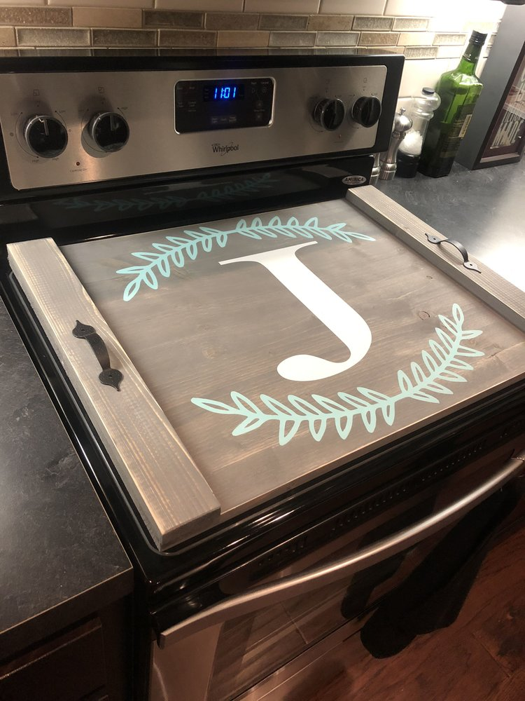 Personalized Stove Cover Trays Platters Home Living Delage Com Br