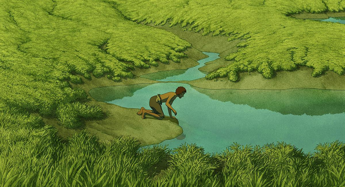 Art:   The Red Turtle