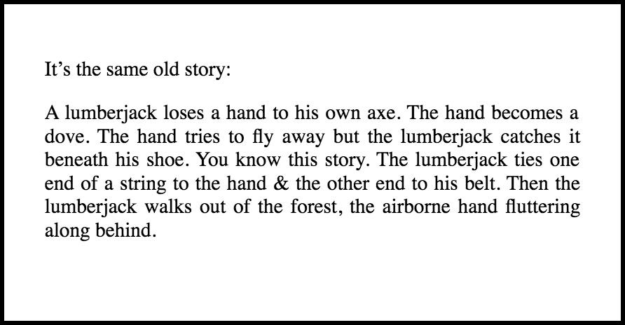 via   The Lumberjack's Dove