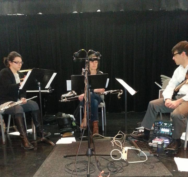 Recording  Troglodyte  with Dutch-American Trio, Sonic Hedgehog - 2015