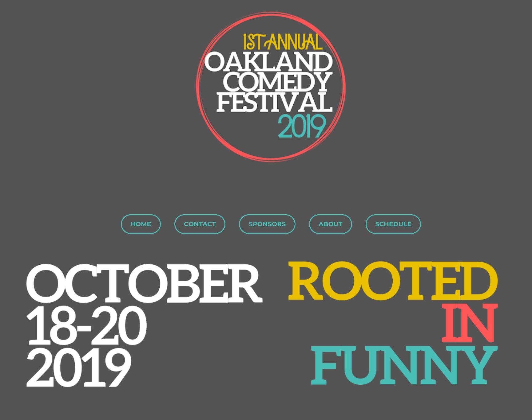 oakland comedy festival