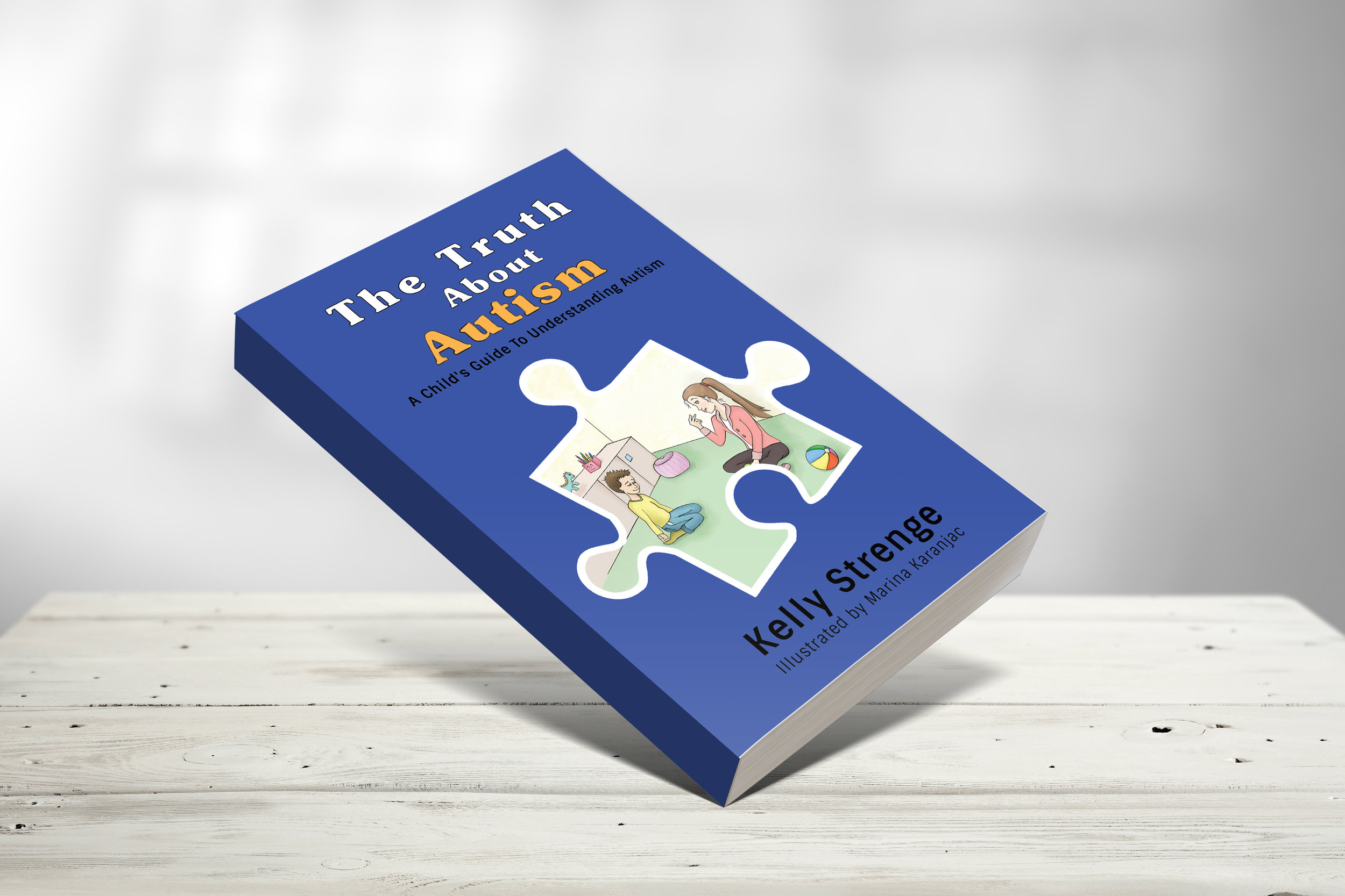 """The Truth About Autism - How do you explain autism to kids? This book is the answer….The Truth About Autism educates children in a very honest, light-hearted, and inspiring way. In this book kids will discover what autism is, common symptoms/behaviors of autistic children, challenges that children with autism spectrum disorders may encounter, ways to possibly improve symptoms of autism, being """"on the spectrum"""" doesn't define a person, and there are positive aspects of the experience. This book works perfectly whether it is your child that was diagnosed or someone they know."""