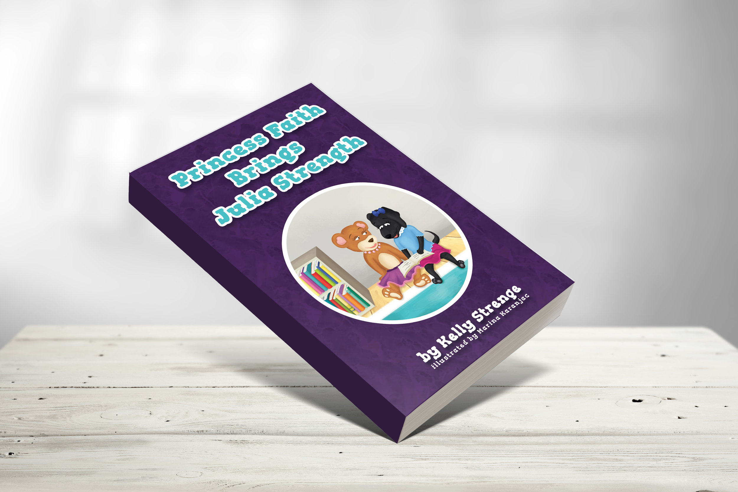 Princess Faith Brings Julia Strength - Julia is struggling in school. She is having a hard time learning to read. How can Princess Faith help Julia find her inner strength?This book focuses on Philippians 4:13,