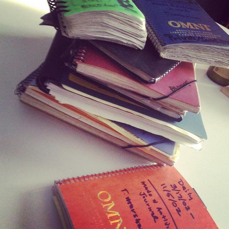 Terry's journals