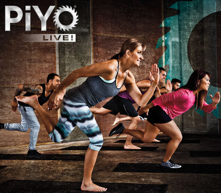 Piyo, the popular BEACHBODY program, is founded in pilates and yoga based movements but has a strong strength, flexibility and core foundation. It's done to the beat of high enegy movement, add some dance movement and you have a great class to add into your current fitness program! -